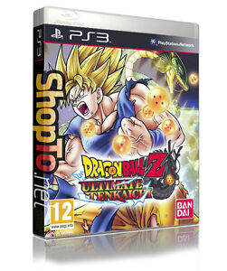 DRAGON BALL Z ULTIMATE TENKAICHI PS3 PLAYSTATION 3 VIDEO GAME NEW SEALED PAL