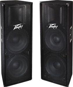 Peavey-PV215-Speakers-Pair