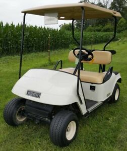 Looking for used golf cart