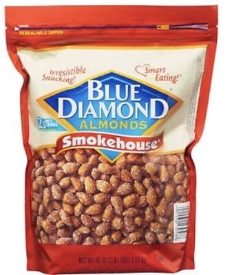 Blue Diamond Smokehouse Almonds 45 Oz Bag Fresh