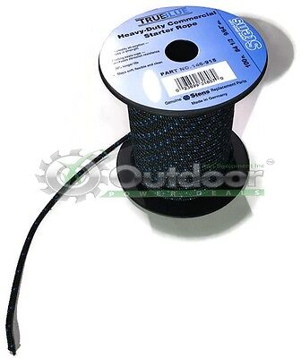 Lawn Mower Snowblower - 100' Solid Braid Recoil Starter Pull Rope #4.5 Snowblowers Lawnmower Chainsaw