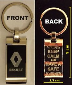 New Renault metal Keyring with a box Perfect for a gift ... best offer