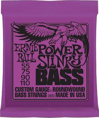 Ernie Ball 2831 Nickel Wound Power Slinky Electric Bass Strings -