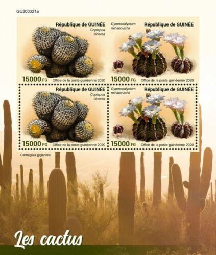 2020/12- GUINEA- CACTUS      4V    MNH **