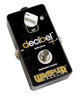 Wampler Decibel dB + (Plus) Boost and Independent Buffer Guitar Effect Pedal NEW