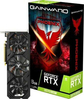 Gainward GeForce RTX 2070 Super Phoenix V1 Grafikkarte - 8GB GDDR6, 3x