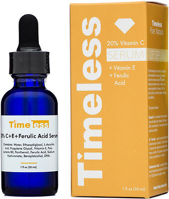Timeless Skin Care 20  Vitamin C Serum   Vitamin E   Ferulic Acid 1 Oz  30Ml