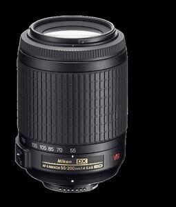 Nikon Lens AF-S DX VR Zoom 55-200mm f/4-5.6 G IF-ED
