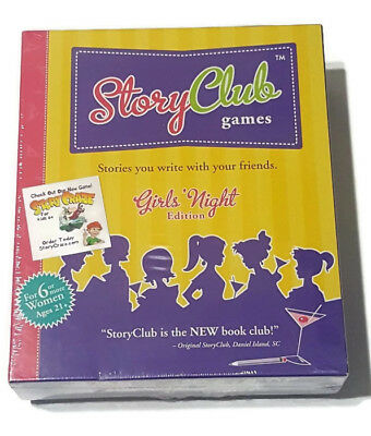 Story Club Games Girls Night Edition Game New Factory Sealed  Girls Night Games