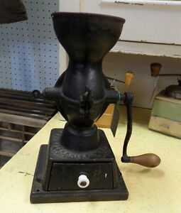 Table/Wall Metal/Wood Coffee Grinders - Blue Jar Antique Mall