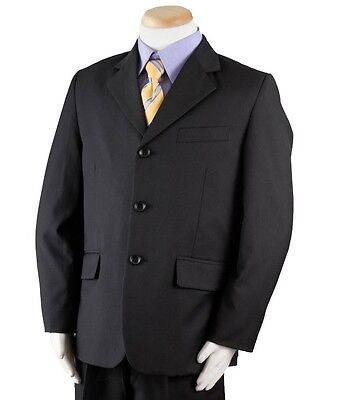 Boy's Navy Blue 3 Piece Suit For Weddings, Holidays and Special Events](Navy Blue Suits For Boys)