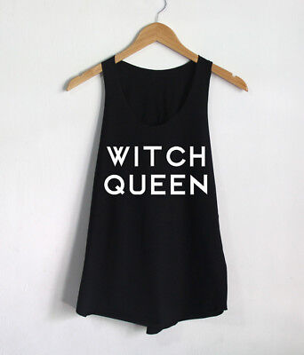 Witch Queen Magic Mystic Shirts Women Tank Top Girls Clothing Tops Gift Tees - Witch Clothing