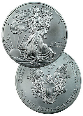 2013 1 Oz Silver American Eagle $1 Coin SKU27334 on Rummage