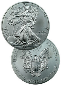 2013 1 Oz Silver American Eagle $1 Coin SKU27334