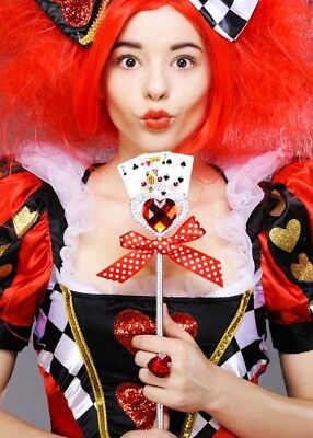 The Queen of Hearts Style Playing Card - Queen Of Hearts Wand