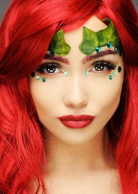 Poison Ivy Style Glitter Make-Up - Poison Ivy Makeup