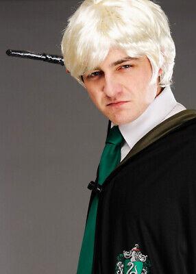 raco Malfoy Style Kostüm Blonde Perücke (Draco Malfoy Kostüme)