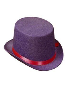 Child Size Top Hat (Kids Size Circus Clown Purple Top)