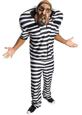 Jail Bird  Sträfling Herren Kostüm Halloween ()
