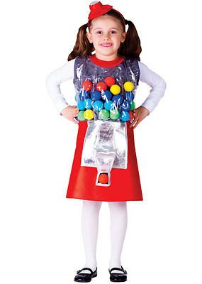Kids Gumball Machine Costume - Gumball Machine Costume Kids
