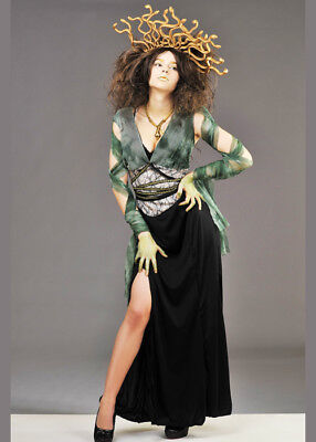 Womens Medusa Costume with Headpiece - Medusa Costume Headpiece