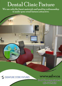Furniture & Cabinet Fixtures for a Dental Office - ssfw.CA