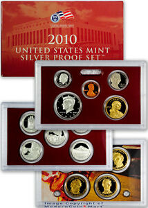 2010 United States Mint 14 pc Silver Proof Set SKU22296