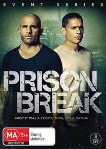 Prison Break : Season 1 (DVD, 2017, 3-Disc Set) New & Sealed Event Series