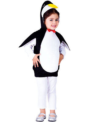 KIDS CHILDRENS CHILDS GIRLS BOYS PENGUIN PINGU ZOO BIRD OUTFIT COSTUME AGE 2-6 (Girl Bird Costume)