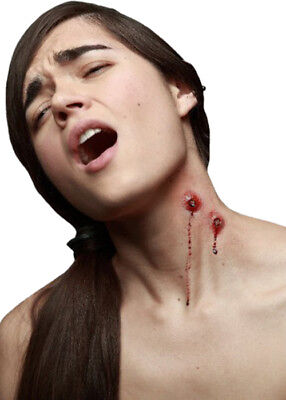 Deluxe Prosthetic Vampire Bite Mark - Halloween Makeup Bite Marks