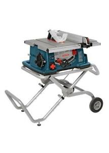 "Bosch 10"" Table Saw with Gravity Rise Stand 4100"