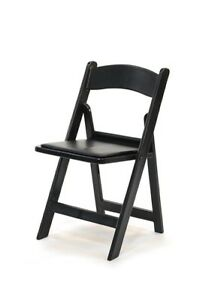 """Party Rental!!    """"Folding  Resin Chairs"""". $3.00"""