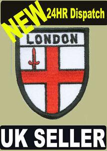 ST. GEORGEu0026#39;S CROSS LONDON UNDERGROUND FLAG WORLD EMBROIDERED PATCH - BADGE | EBay