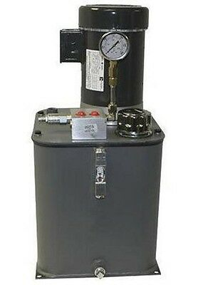 Hydraulic Power System - Self Contained - 2 Hp - 115230 Volts - 1 Ph - 1.5 Gpm