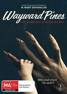 Wayward Pines : Season 2 (DVD, 2017, 3-Disc Set) New & Sealed