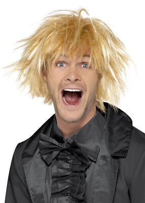 Mens Blonde Dumb and Dumber Style Wig