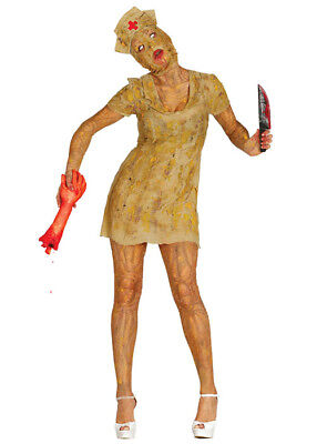 Womens Silent Hill Style Zombie Nurse Costume - Silent Hill Nurse Costume Halloween