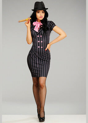 Womens 1920s Gangster Lady Costume](1920s Gangster Costume Female)