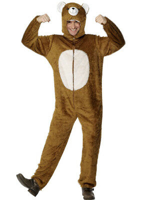 Adult Brown Teddy Bear - Teddy Bear Costume Men