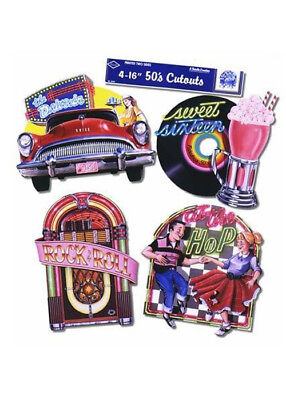 1950s Party Diner Cut Out - 1950 Party Decorations