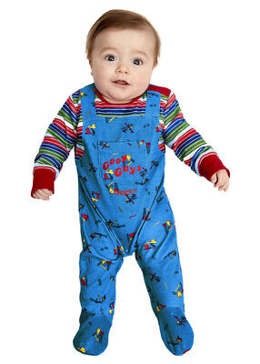 Infant Chucky Costume (Baby Size Childsplay Chucky Doll)