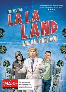 LA LA LAND- FAKING IT BIG IN HOLLYWOOD * NEW SEALED ALL REGION DVD -MARC WOOTTON