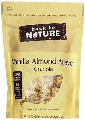 Back To Nature Granola Vnlla Almnd, PartNo 120976, by Back To Nature,Pack 6