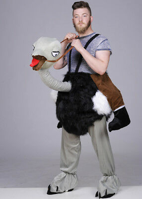Adult Ride On Ostrich Costume (Man On Ostrich Costume)