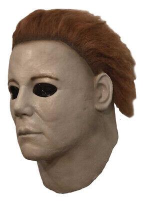 Deluxe Halloween 7 Michael Myers Maske mit - Michael Myers Haar
