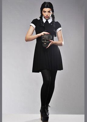 Adult Ladies Wednesday Adams Style Costume](Adult Wednesday Adams)