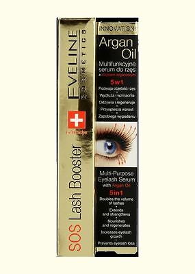 1c5ace40182 EVELINE SOS lash booster 10ml eyelashes conditioner with argan oil фото