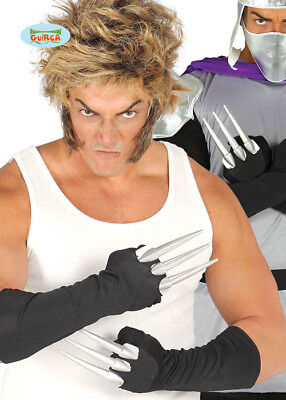 Adult Wolverine Style Gloves with Claws](Wolverine Gloves With Claws)