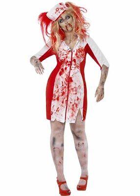 Halloween Plus Size Curves Zombie Nurse Costume - Plus Size Zombie Nurse Halloween Costumes