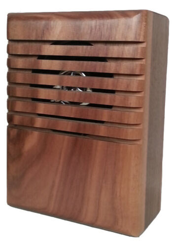 YourBell Musical Doorbell Door Chime Wood Wired MP3 Programmable Made in USA